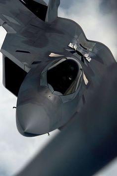 "rhubarbes: "" Lockheed Martin F-22 Raptor. More Airplanes here. """