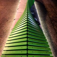 Would you believe me if I say this is a #bench ? I swear #green #repetition #SouthBank #Queensland #Brisbane #igersbrisbane #igersaustralia #instabrisbane #structure