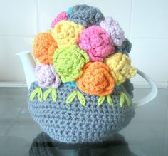 Hey, I found this really awesome Etsy listing at https://www.etsy.com/listing/195335360/tea-cosy-roses-hand-crochet-acrylic-yarn