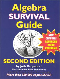 Algebra Survival Guide: A Conversational Handbook for the Thoroughly Befuddled Negative Numbers, Order Of Operations, Most Popular Books, Multiplication Facts, Fiction And Nonfiction, Word Problems, Survival Guide