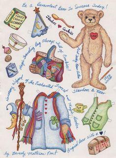 Bears paper dolls 19