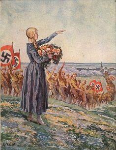 """sturmfurie: """"Adolf Reich """"Deutscher Frühling"""" """""""