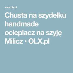 Chusta na szydełku handmade ocieplacz na szyję Milicz • OLX.pl
