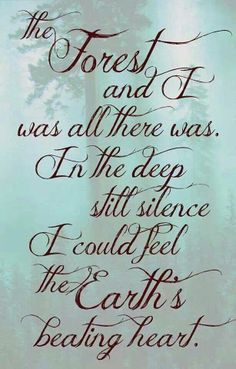 for the love of the forest The Words, Beau Message, Nature Quotes, Forest Quotes, Earth Quotes, Found Out, Beautiful Words, Trees Beautiful, Inspire Me