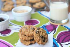 Gluten-Free Oatmeal Raisin Cookie | Girl Cooks World