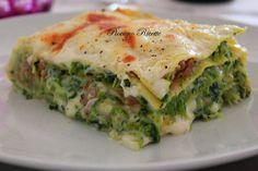 lasagne con cime di rapa Crepes, Gnocchi, Paella, Pasta Dishes, Quiche, Risotto, Nom Nom, Good Food, Food And Drink
