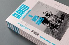 "Slanted Magazin #19 – Super Families by MAGMA Brand Design , via Behance   ---- In this issue of the design magazine, Slanted Magazine, they focused on type ""super families.""  I love the use of the photos to correspond with all of the fun type. Each page is a different show of these type families."