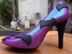 SOMBRA en Monster Rose. Zapatillas de chocolate especial de Halloween. www.lamansionrosa.com.