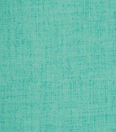 Home Decor Print Fabric-Robert Allen Baja Linen-Turquoise