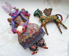 folk dolls by olga march