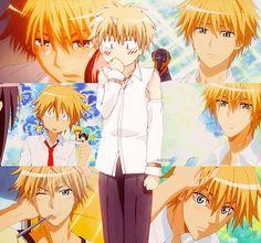 One of my anime crushes, usui takumi from kaichou wa maid-sama Girls Anime, Hot Anime Guys, I Love Anime, Awesome Anime, Sakura Anime, Manga Anime, Anime Art, Usui Takumi, Misaki
