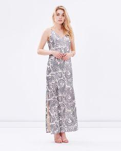 Sequin maxi dress australia