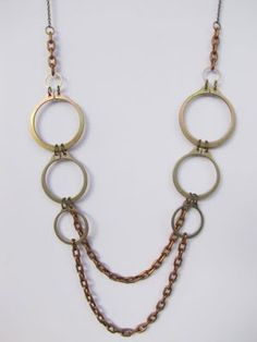 Stainless Steel Jewelry Stainless Steel Necklace by BlackCatLinks