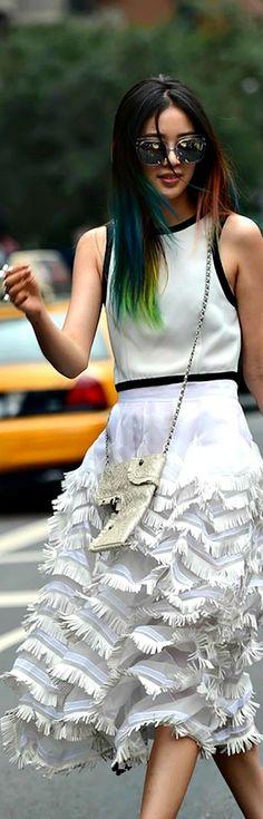 Street style - NYFW Spring 2015- ♔LadyLuxury♔
