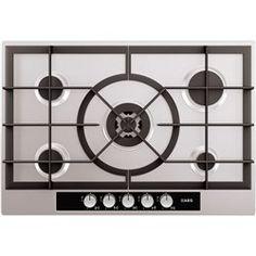 Kitchen > Appliances > Hob  AEG Five Burner Gas Hob Stainless Steel £238