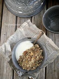 Coconut Pineapple Ginger Muesli (raw, vegan, gluten-free)