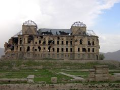Abandoned Darulaman Palace in Afghanistan