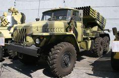 BM-21 GRAD Army Vehicles, Armored Vehicles, Bm 21 Grad, Tanks, Weapons, Monster Trucks, Ships, Tech, War