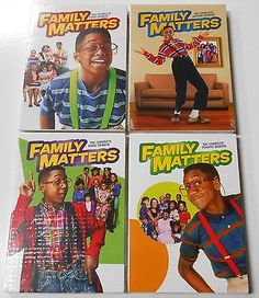 Family Matters Season 1, 2, 3 & 4 - DVD TV First Second Third Fourth BRAND NEW