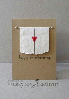 Happy Anniversary card design idea