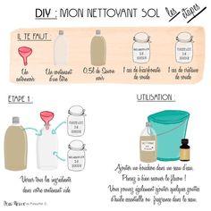 NETTOYANT NATUREL POUR LE SOL - DIY ASTUCES NATURELLES (@Peau_Neuve)