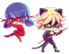 Chibi 135 48 Beautiful Ladybug and Chat Noir Kawaii Anime Chibi, Chibi Kawaii, Cute Chibi, Anime Kawaii, Ladybug And Cat Noir, Ladybug Anime, Miraclous Ladybug, Ladybug Comics, Ladybugs
