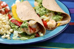 Shrimp Tacos with Avocado Chimichurri Sauce 5