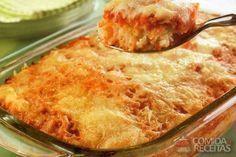 Receita de Arroz à parmegiana - Comida e Receitas