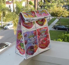 Bringing your lunch is now cool again> Capri Sun Lunch Tote Tutorial