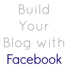 Build Your Blog with Facebook