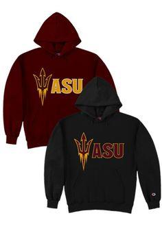 X-Large Under Armour NCAA Arizona State Sun Devils Teen-Boys NCAA Boys Short Sleeve Vented Tee Maroon