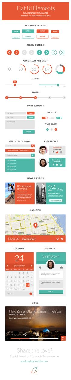 Dribbble - FlatUI-andrewbeckwith.jpg by Andrew Beckwith