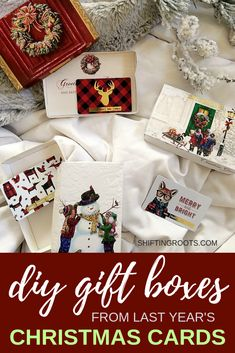 You've got to check out this neat way to upcycle last year's Christmas cards! You can DIY your own gift card holder with this simple recycled craft. So easy even your kids can do it! The Best Of Christmas, Christmas Crafts For Kids To Make, Christmas Hacks, Best Christmas Gifts, Simple Christmas, All Things Christmas, Christmas Wrapping, Rustic Christmas, Christmas Decor