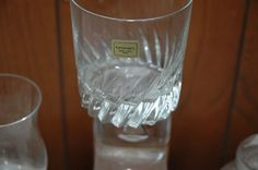 75 Plus Pieces of Cut Crystal/Glass including Glasses/Serving Dishes/Candy Dishes/Pitcher/Etc.