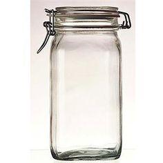 Bormioli Rocco 1.5-liter Fido Canning Jars