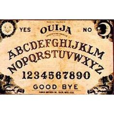 Vintage 80's Halloween Party Ouija Board Game Oracle by RetroRealm - Photo
