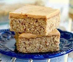 Peanut butter oatmeal breakfast bars.