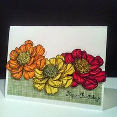 J J Creations: Blended Blooms