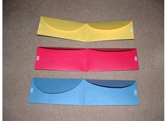 Pockets made from folders, great organizational tool for games and centers