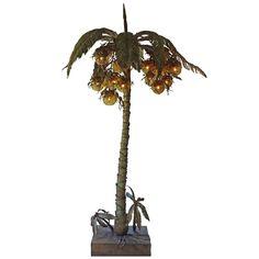 1stdibs - Italian 1970s Gilt Iron Coconut Tree Lamp explore items from 1,700  global dealers at 1stdibs.com