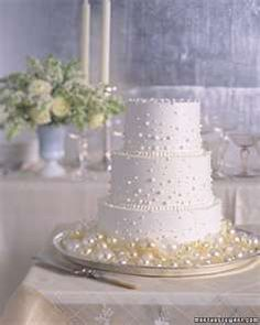 Bubble Cake A simple cake frosted with white buttercream rises from a sea of blown-sugar bubbles that mimic both the color and the festive air of champagne. Piped buttercream dots on the cake continue the effervescent theme. Bubble Cake, Wedding Cake Pearls, White Wedding Cakes, Floral Wedding, Fall Wedding, Pretty Cakes, Beautiful Cakes, Pearl Cake, White Buttercream
