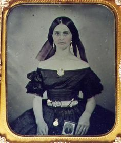 elderly woman ambrotypes   6th plate Ambrotype of a young California woman circa 1850's-60 ...