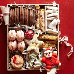Christmas Cookie Gift Box and Cookie ideas