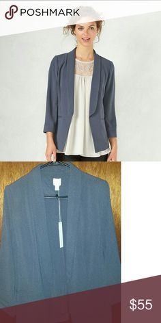 LC Lauren Conrad Crepe Blazer Made of lightweight material this Lauren Conrad Blazer is a perfect addition to any wardrobe. Dress it up or down for the office or a night on the town. New With Tags. Color:gray LC Lauren Conrad Jackets & Coats Blazers