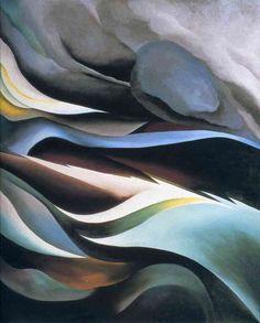 Georgia O'Keeffe - From the Lake, 1924.