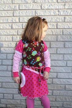 Ebook Kleid MILENA Gr. 80-140 - Nähanleitungen bei Makerist