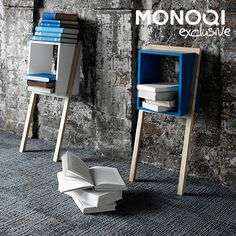 Sleekly Supported Shelving by And Then Design | MONOQI