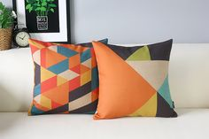 Pretty pillow 19.99 https://www.etsy.com/listing/215693613/triangle-decorative-pillow-covers