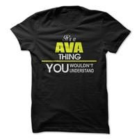 Its a AVA  Thing!