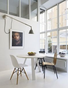 Stockholm Apartment Interior Decorating With Split-Level Style Dinning Room Of Stockholm Apartment With Split-Level Style – Home Design Tips And Inspiration